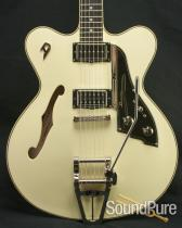 Duesenberg Fullerton C.C. Semi-Hollow Vintage White Electric