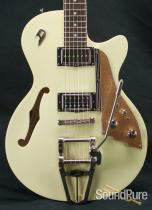 Duesenberg Starplayer TV Vintage White Semi-Hollow 52
