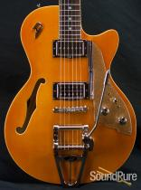 Duesenberg Starplayer TV Trans-Orange Semi-Hollow Guitar 429