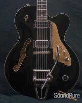 Duesenberg 2012 C.C. Semi-Hollow Black Electric Guitar- Used