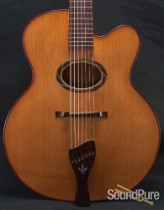 Buscarino 7-string Oval-hole Virtuoso Archtop- Pre-Owned