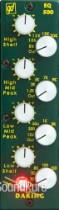 Daking EQ 500 4-Band Parametric EQ