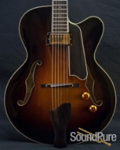 Eastman 2011 T146SM-SB Classic Thinline Archtop Guitar- Used