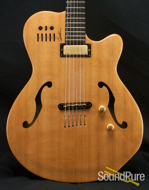 Godin Multiac Jazz Sa Acoustic Electric Guitar Used