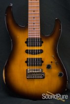 Suhr Modern Antique 2-Tone Tobacco Burst GG Guitar 24574