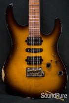 Suhr Modern Antique 2-Tone Tobacco Burst GG Guitar 25398