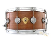 DW 6.5x14 Classics Series Mahogany Snare Drum-Natural Gloss