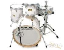 Pork Pie 4pc White Marine Pearl Maple Drum Set