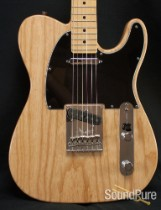 Fender 2013 American Standard Natural Telecaster Guitar-Used