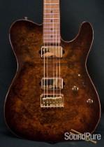 Suhr Classic T Bengal Burst Burl Maple Top Guitar 25466-Demo
