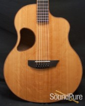McPherson MG-4.5XP Quilted Maple/Bear Claw Sitka 12-String