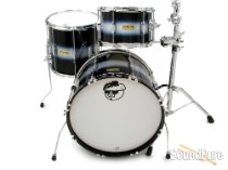 Pork Pie 3pc Hip Pig Drum Set-Blue Duco 20""