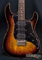 Tyler Studio Elite HD Spalted Maple Tobacco Sunburst Guitar