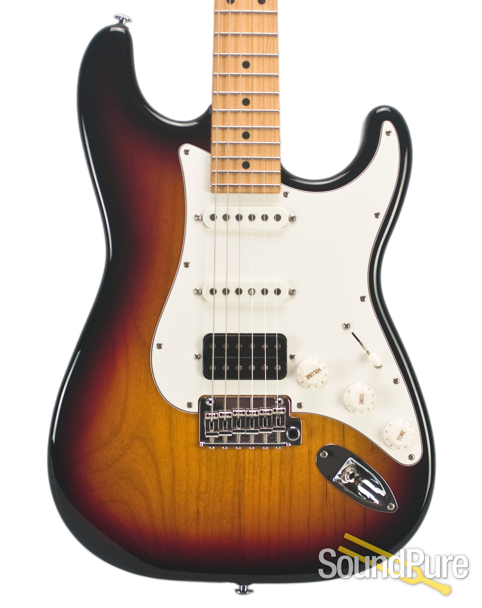 Suhr Classic Pro 3 Tone Burst Maple Hss Electric Guitar Ebay