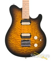 Ernie Ball Music Man Axis Super Sport Tobacco Burst Guitar