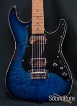 Suhr Standard Trans Whale Blue Burst Electric Guitar 25233