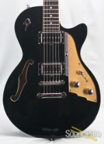 Duesenberg Starplayer TV Non-Trem Black Semi-Hollow Guitar
