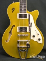 Duesenberg Starplayer TV Gold Top Semi-Hollow Guitar