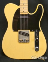 Crook Butterscotch Tele Guitar w/ McVay G-Bender - Used