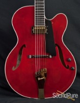 Benedetto Bravo Claret Archtop Electric Guitar - Used