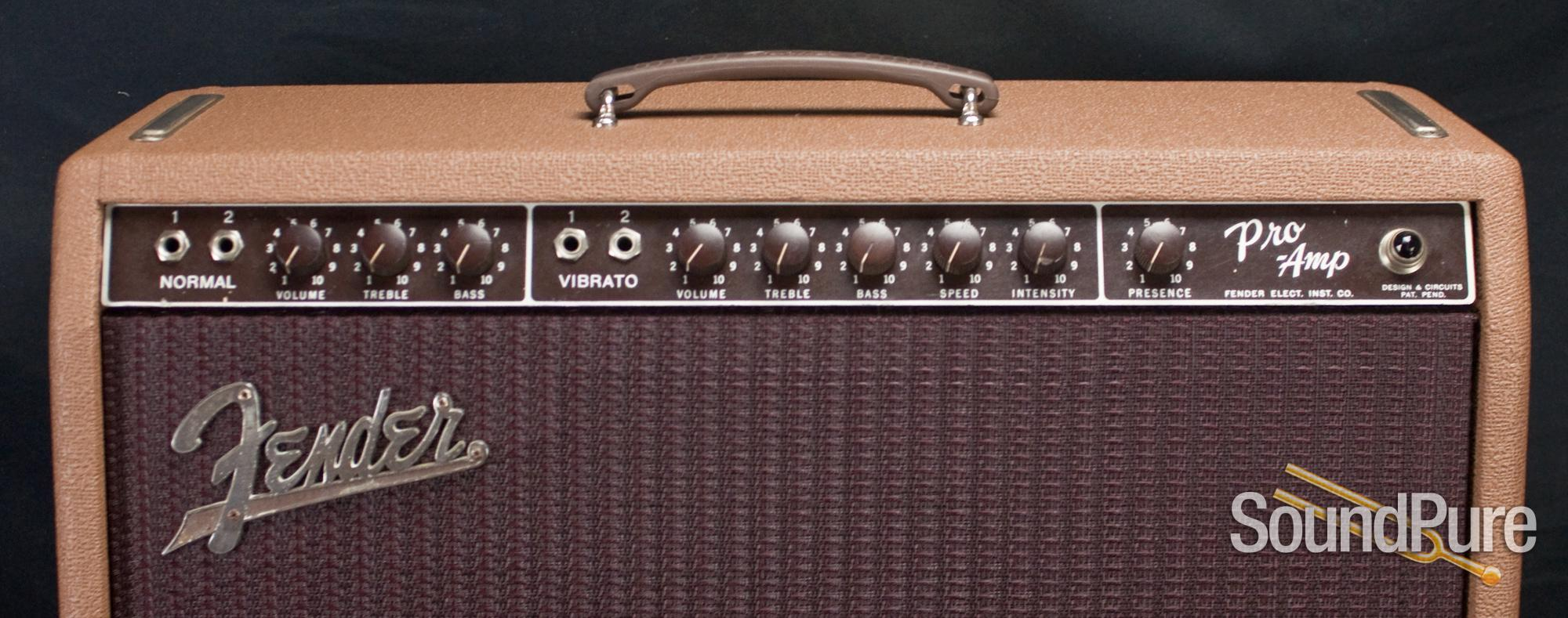fender 1962 pro amp brownface guitar amp vintage used ebay. Black Bedroom Furniture Sets. Home Design Ideas