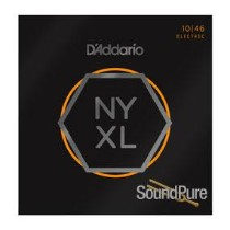 D'Addario NYXL Nickel Wound Light 10-46 Guitar Strings