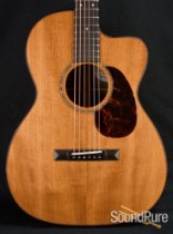 Bourgeois Aged Tone Custom OMS Addy/Ziricote Acoustic Guitar