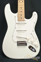 Suhr Classic Pro Olympic White Maple SSS Electric Guitar