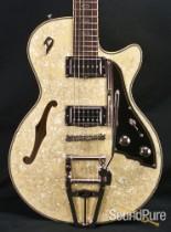 Duesenberg Starplayer TV Cream Pearloid Guitar - Used