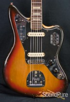 Fender 1973 Sunburst Jaguar Electric Guitar - Vintage