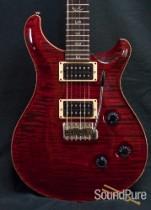 PRS 2008 Custom 24 Black Cherry 1-Piece 10-Top Guitar - Used