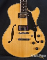 Comins GCS-1ES Vintage Blond Semi-Hollow Electric Guitar 089