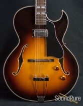 Eastman AR371CE-SB Sunburst Archtop Electric Guitar 5487