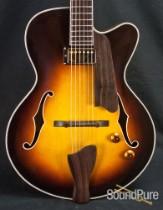 Eastman AR603CE-CS-15 Classic Sunburst Archtop Guitar 5021