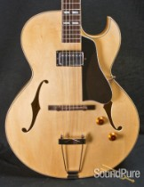Eastman AR371CE-BD Blonde Archtop Electric Guitar 5244