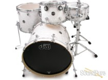 DW 4pc Performance Series Maple Drum Set-White Marine