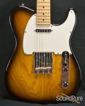 Suhr Classic T Pro Contoured Body 2-Tone Burst Guitar 27578