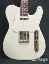 Suhr Classic T Pro Contoured Body Olympic White Guitar 27580