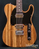 Suhr Classic T Zebrawood Reverse-Headstock Guitar 25462