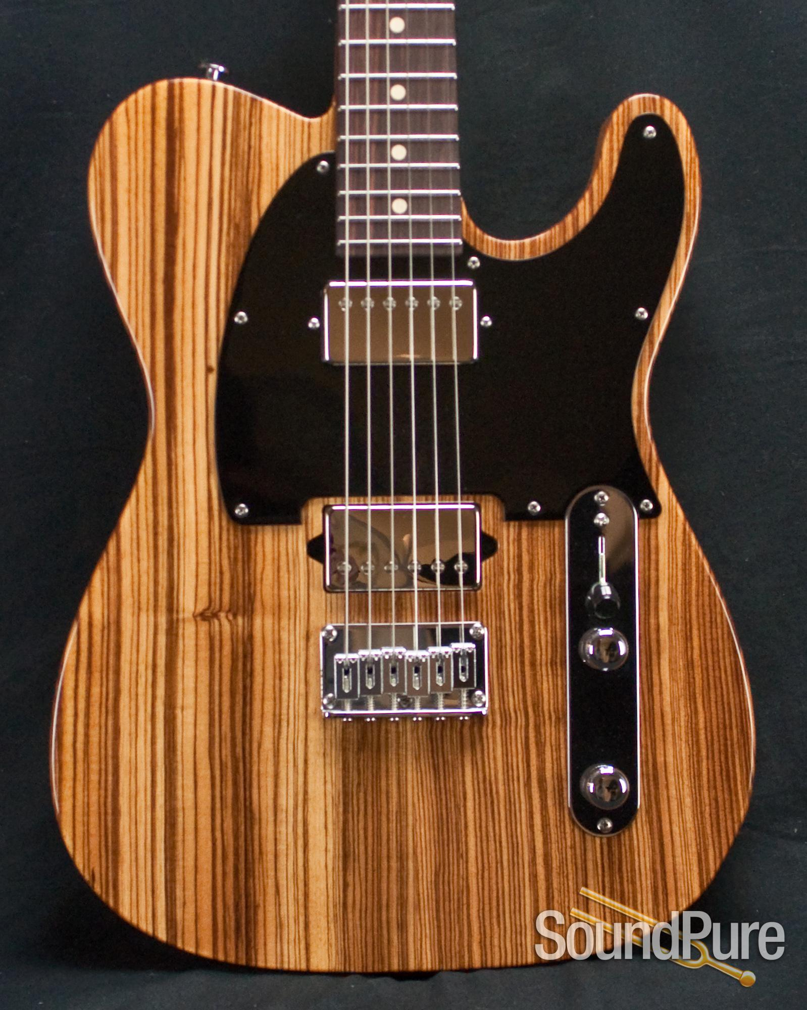 Suhr Classic T Zebrawood Reverse Headstock Guitar 25462
