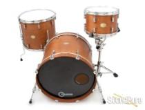 Noble & Cooley 3pc CD Maple Drum Set-Honey Maple Oil