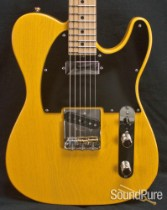 Tuttle Custom Classic T Butterscotch Nitro Electric Guitar