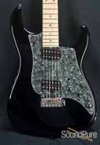 Tyler 2009 Studio Elite HD Black Electric Guitar - Used