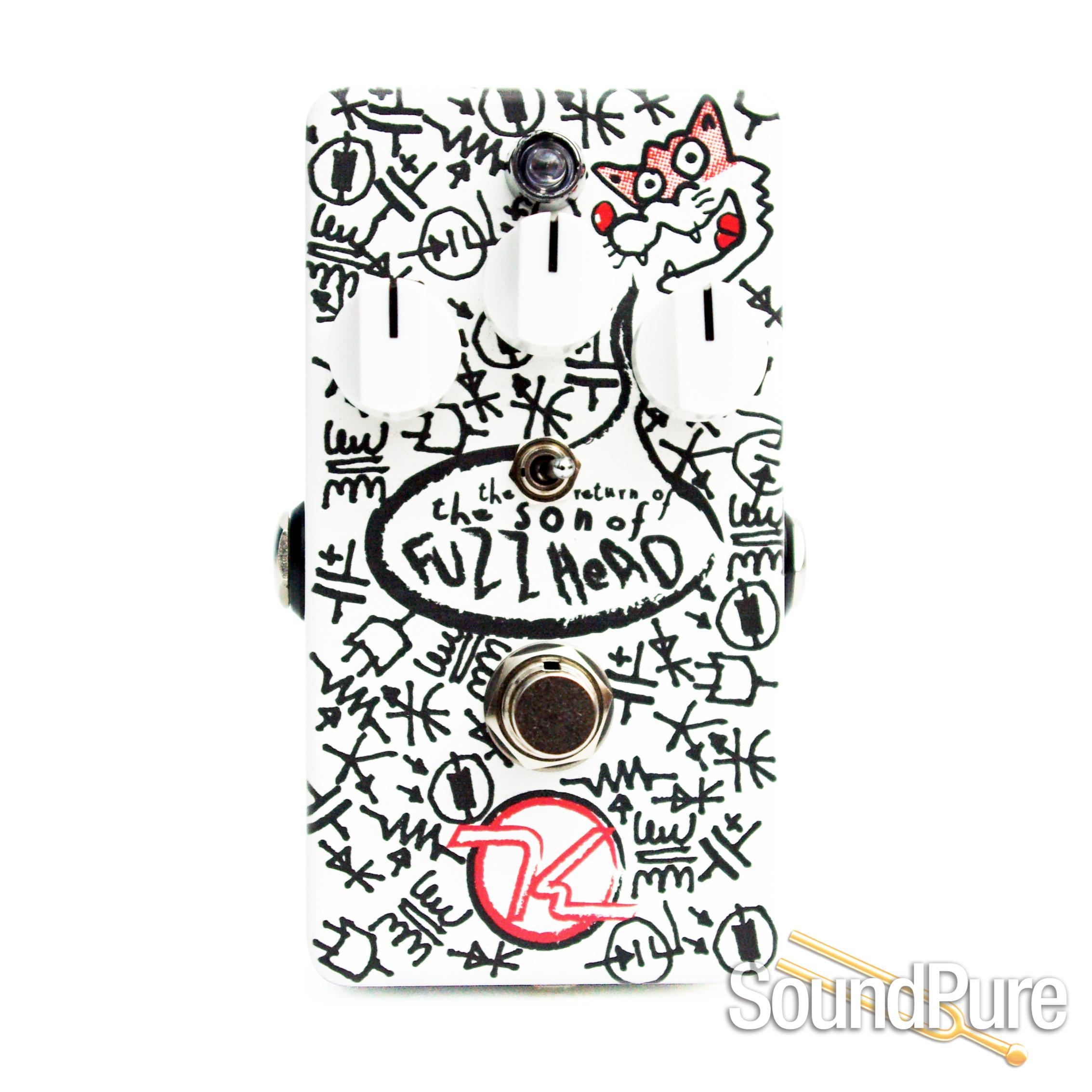 keeley son of fuzz head fuzz effect pedal