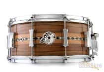 Pork Pie 6.5x14 Jarrah Snare Drum-Natural Gloss