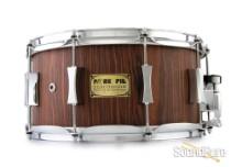 Pork Pie 7x14 Franken Snare Drum-Rosewood/Maple