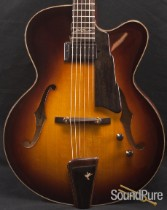Eastman AR880CE-SB John Pisano Maple Archtop Guitar DEMO