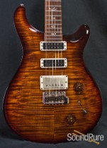 PRS 2012 Studio Black Gold Burst Electric Guitar - Used