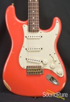 Nash S-63 Fiesta Red Electric Guitar NG-2661
