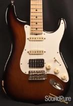 Tuttle 2-Tone Sunburst Nitro Worn S Guitar 234 - Used